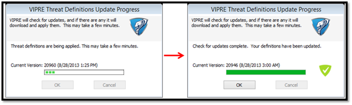 How can I download and update antivirus definition