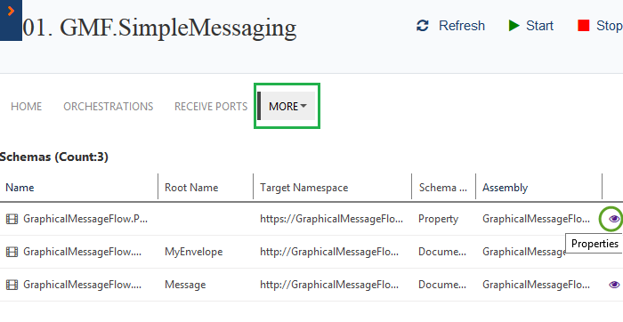 biztalk schemas graphical message flow