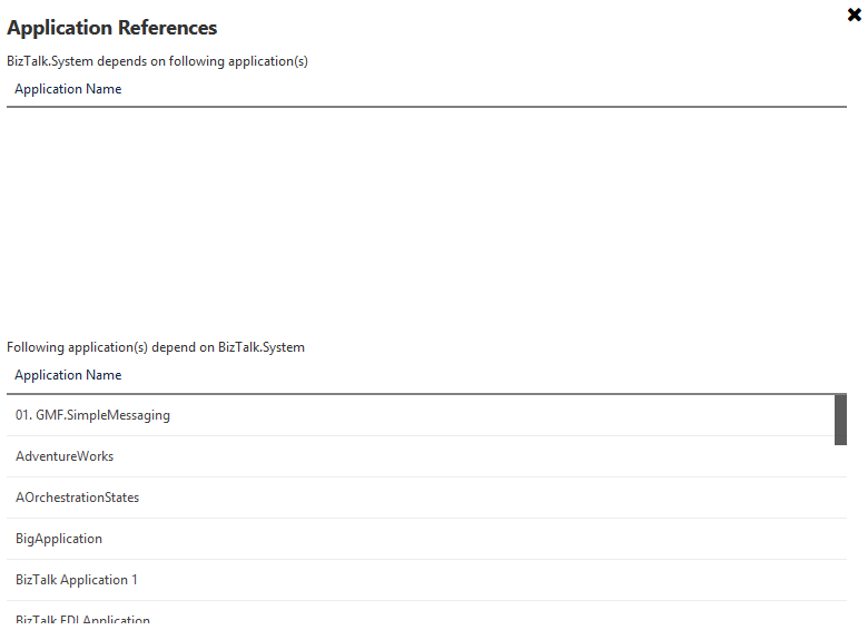 application references in biztalk360