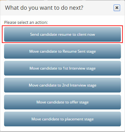 Shortlisted Candidate (Introduce Candidate to the Company) : SupportBoss