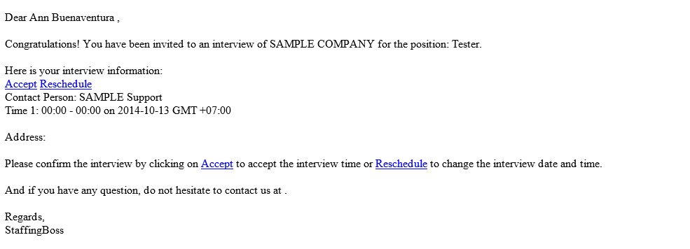 Shortlisted Candidate (Introduce Candidate to the Company ...