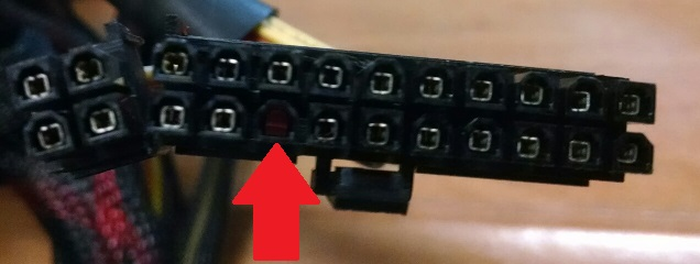 Why Is There A Pin Missing On My 24 Pin Connector 5v