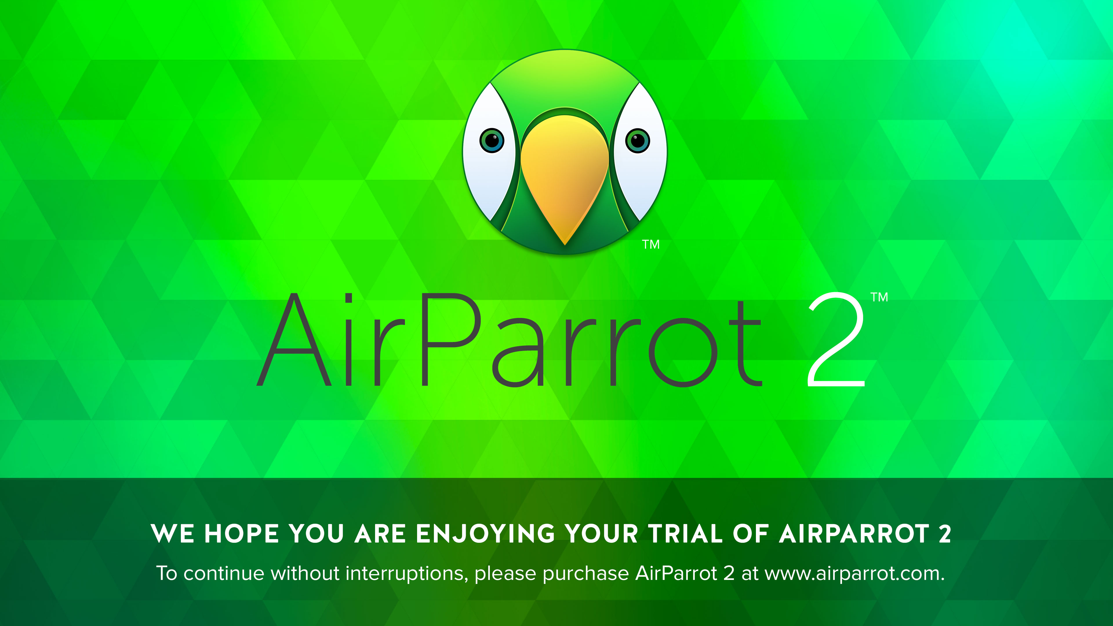 AirParrot Trial