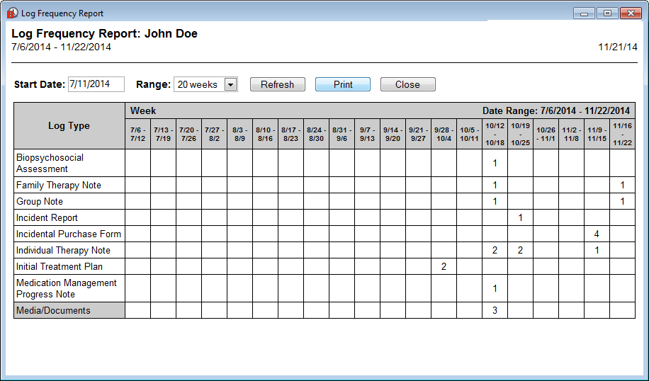 New Note Tab / Activity Log / Chart (Video) and Note Management ...