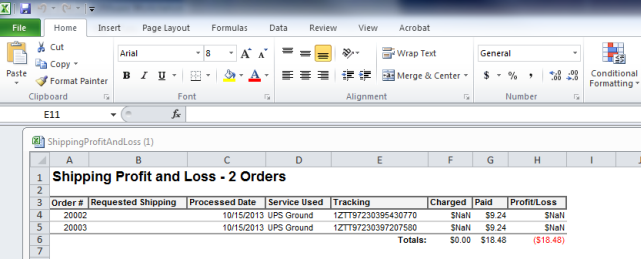 exporting a report to microsoft excel shipworks support