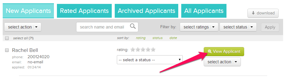 Requesting Meeting To Review Your >> Send A Meeting Request To An Applicant Hiringthing Support