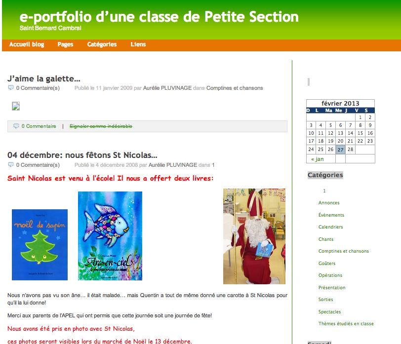 Blog de petite section