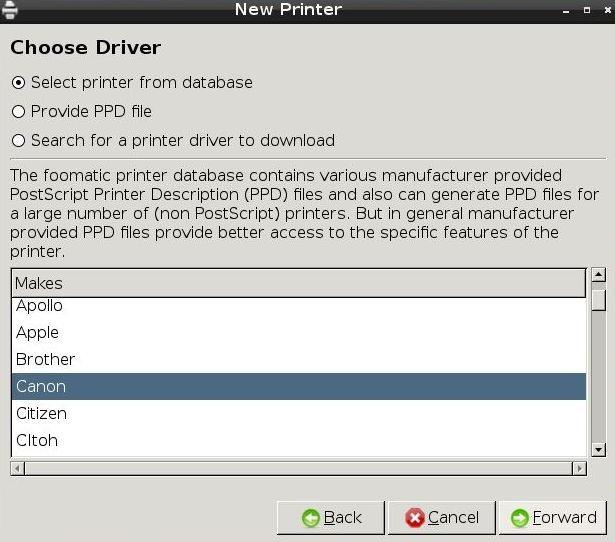 install printer driver canon lbp 2900b