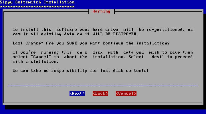 Disk Formatting Config