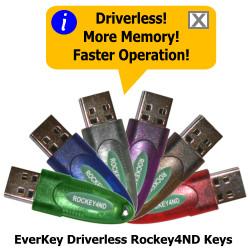 EverKey Driverless Rockey4ND Key