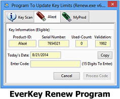 EverKey Renew Program