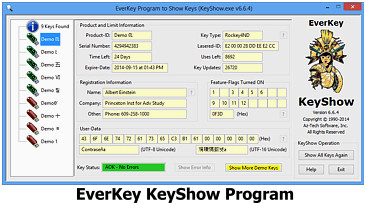 EverKey KeyShow Program