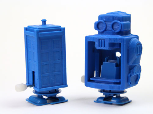 Tardis and robot walkers
