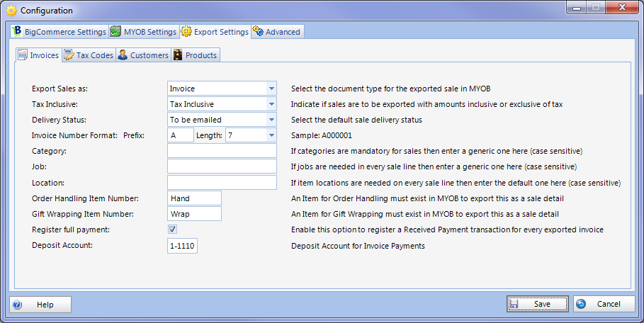 Configuration Export Invoices Setup.png