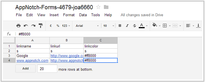 how to save tally data in google drive